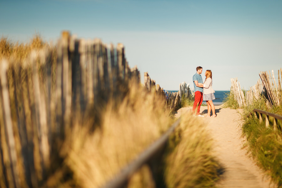 st andrews photography - couple on boardwalk